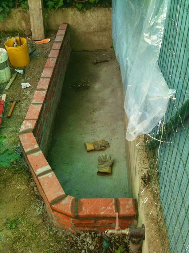 Cosas que compartir mi peque o estanque for Estanque de concreto
