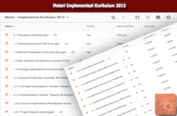 Materi Implementasi Kurikulum 2013 SD/MI