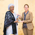 Photogist: Wife Of The President Aisha Buhari Hosts Melinda Gates