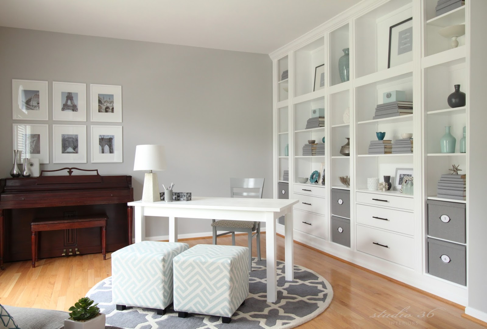 Crazy awesome before and afters from thrifty decor chick for Home office makeover ideas