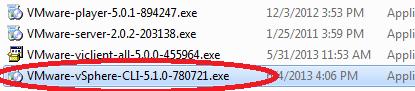VMware vSphere CLI
