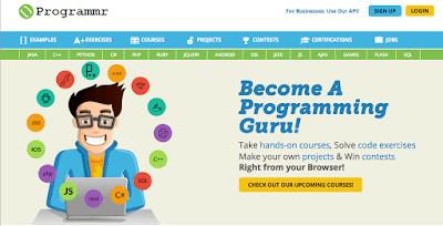 موقع-Programmr-لتعلم-لغات-البرمجة