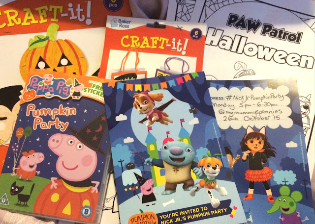 Halloween Fun for Half Term with #NickJrPumpkin Party
