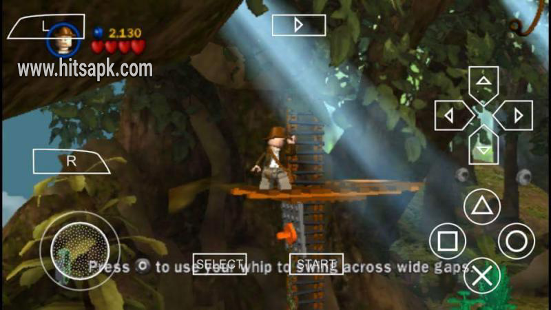 LEGO Indiana Jones The Original Adventures psp android