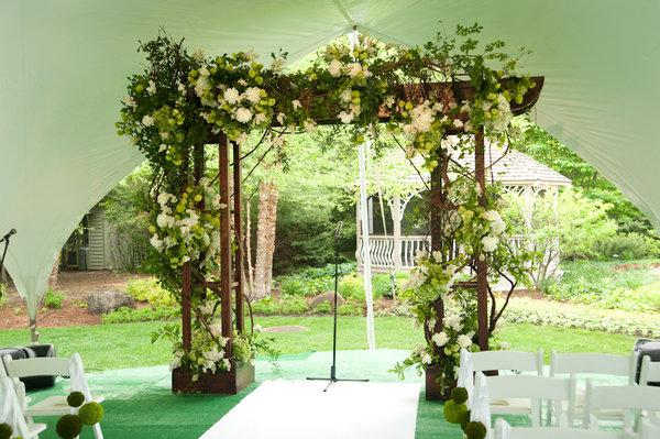 Trellis Outdoor Wedding Ceremonies: Event Creative