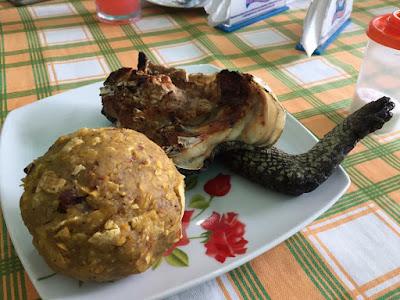 Chicharrón de lagarto, gastronomía de la selva, comidas curiosas de la selva