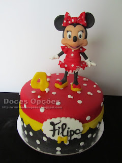 A Minnie no 4º aniversário da Filipa