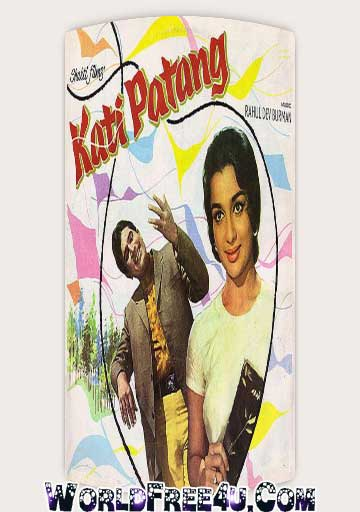 Poster Of Bollywood Movie Kati Patang (1970) 300MB Compressed Small Size Pc Movie Free Download worldfree4u.com
