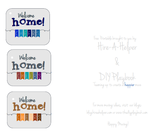Welcome Home Free Printable