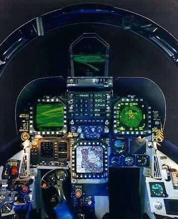 Jet Airlines: F/A-18 Hornet Cockpit