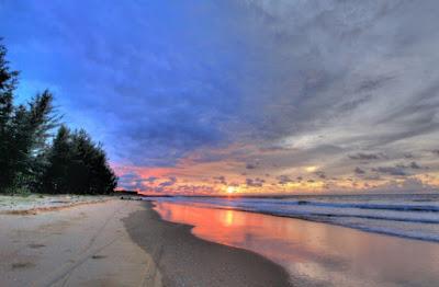 Pantai di Brunei Darussalam