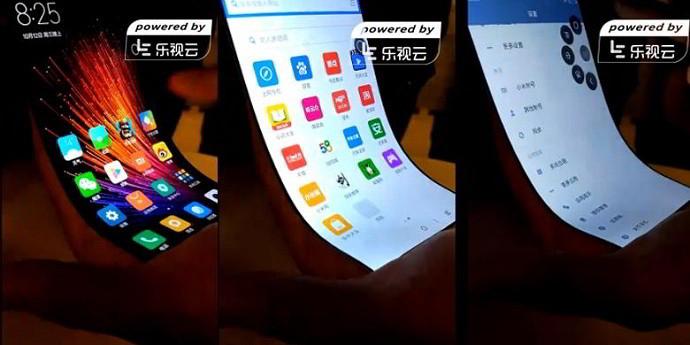 Smartphone Xiaomi dengan Layar Fleksibel