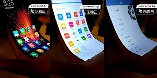 Heboh! Smartphone Xiaomi dengan Layar Fleksibel Muncul dalam Video