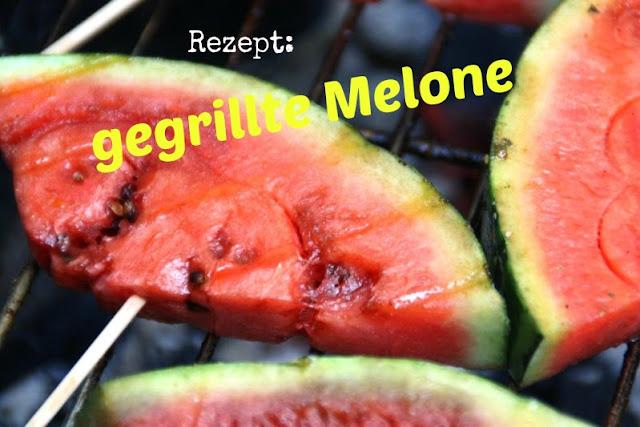 Rezept für gegrillte Melone