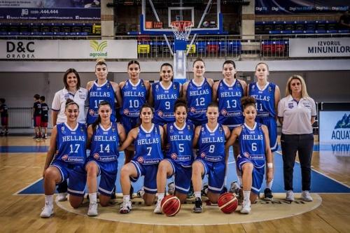 Ευρωπαϊκό Νέων Γυναικών: Ρουμανία – Ελλάδα 65-47. Καφαντάρη: «Μας στοίχισαν άγχος και χαμένα ριμπάουντ»