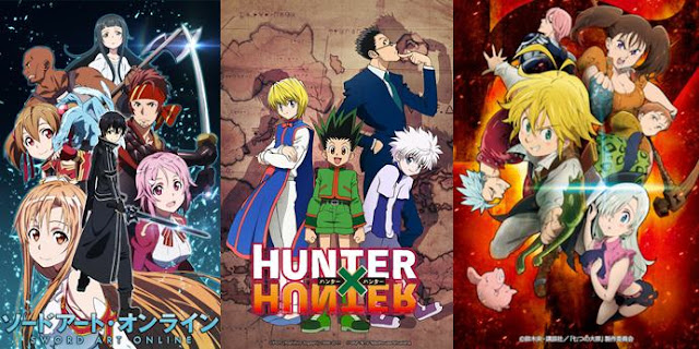 anime fantasy supernatural terkeren