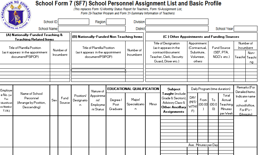 school forms templates - Black.dgfitness.co