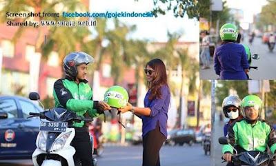 photo driver Gojek Indonesia