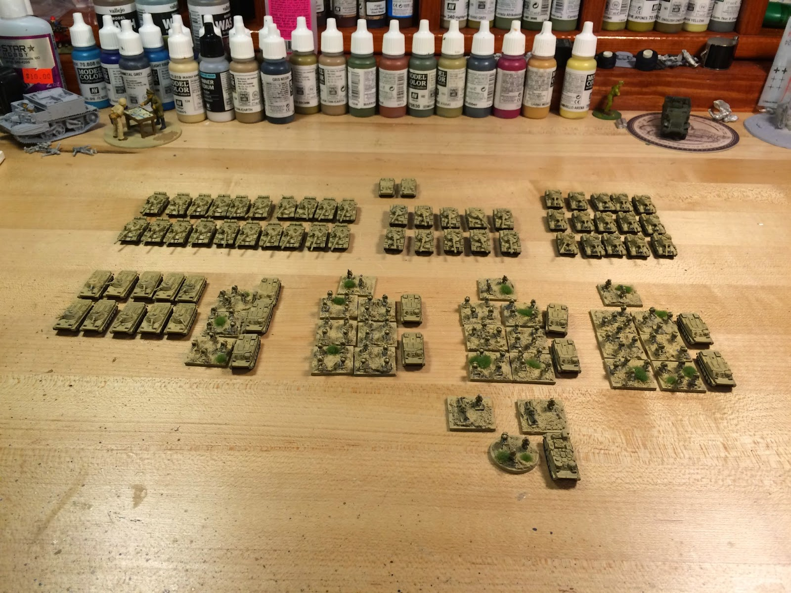 Lair of the Uber Geek: 6mm Micro Armor for Fate of a Nation