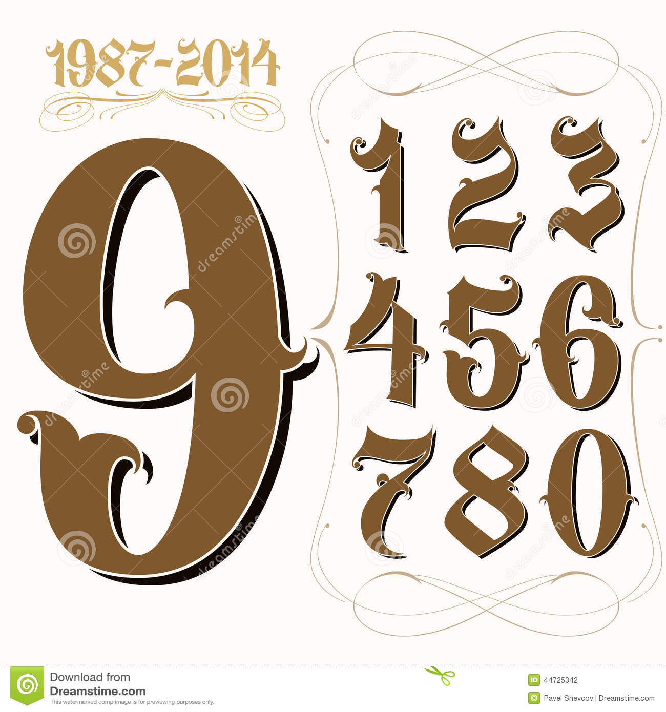 ART and TATTOO: Numbers