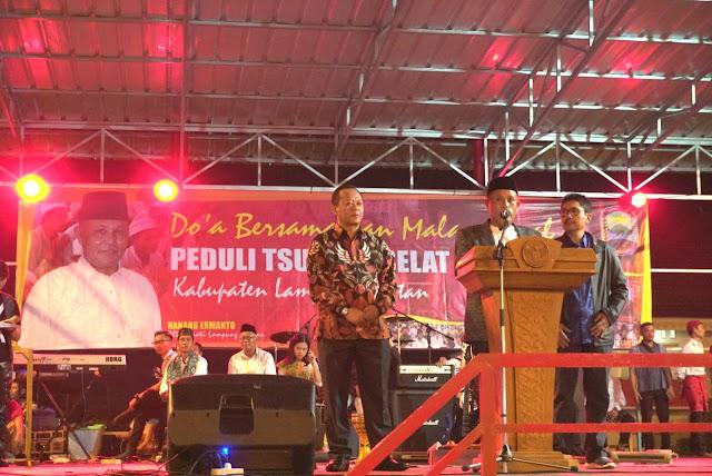 Pemkab Lamsel Gelar Do'a Bersama Untuk Korban Tsunami