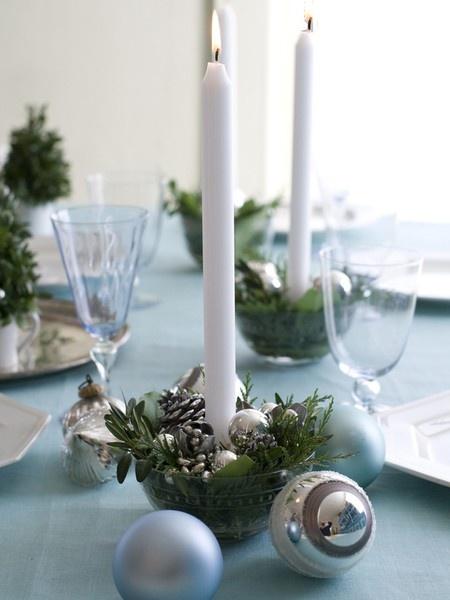 10 centros de mesa diy para decorar tu mesa esta Navidad