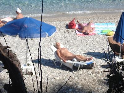 nüdist çıplak plajı