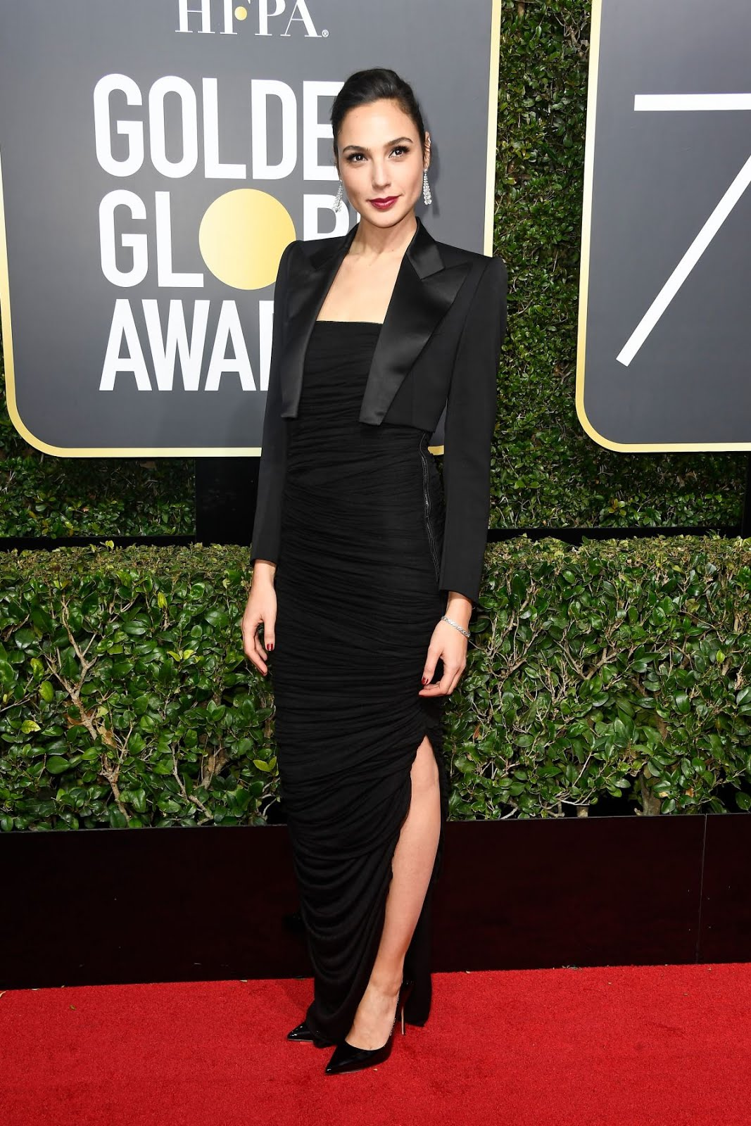 Gal Gadot At 75Th Annual Golden Globe Awards In Beverly Hills