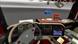 Scania Streamline interior by furkan61