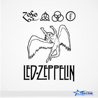 Led zeppelin Logo Vector cdr Download