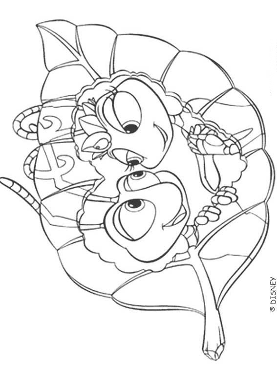 a bug life coloring pages - photo #23