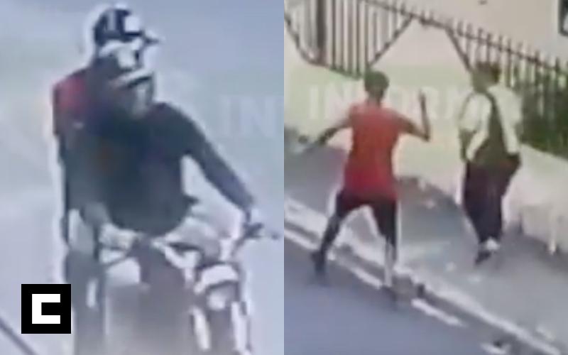 Video: El asalto a una doñita a plena luz del día en SFM