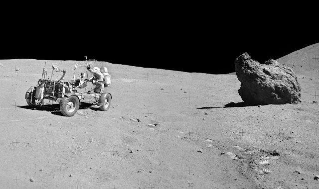 Аполло́н-16 Лунный ровер 5
