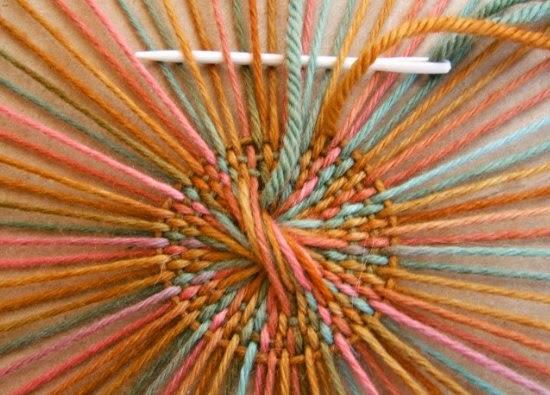 sombreros, tejidos, círcular, crochet, tejido, telares, manualidades