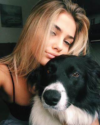 selfie con mascota tumblr