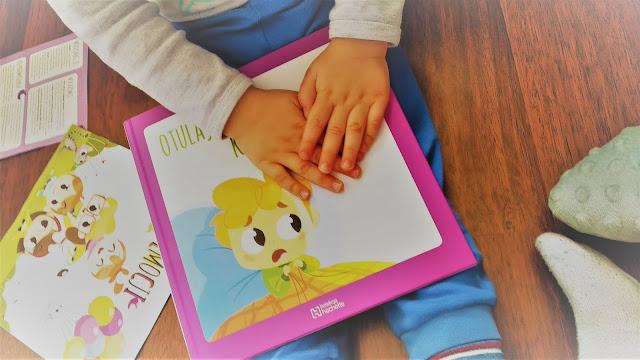 seria świat emocji, strach, książka dla dzieci, opanowanie emocji, jak pomóc dziecku poznać emocje