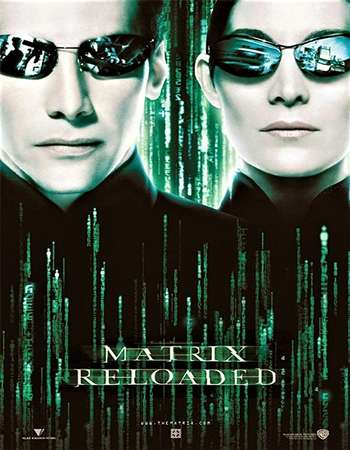 The Matrix Reloaded 2003 Hindi Dual Audio 650MB BluRay 720p ESubs HEVC