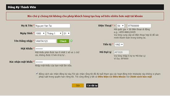 Cách đánh lô đề online uy tín 1 trúng 99 tại win2888