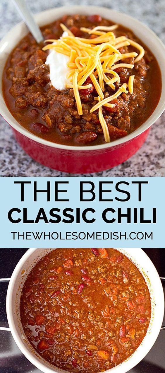 The Best Classic Chili Recipe