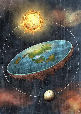 Risultati immagini per la Terra non è rotonda