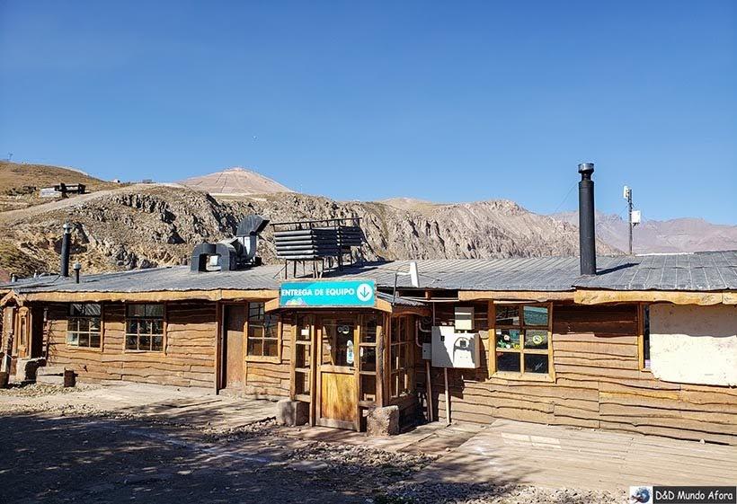 Parque Farellones - Valle Nevado no verão