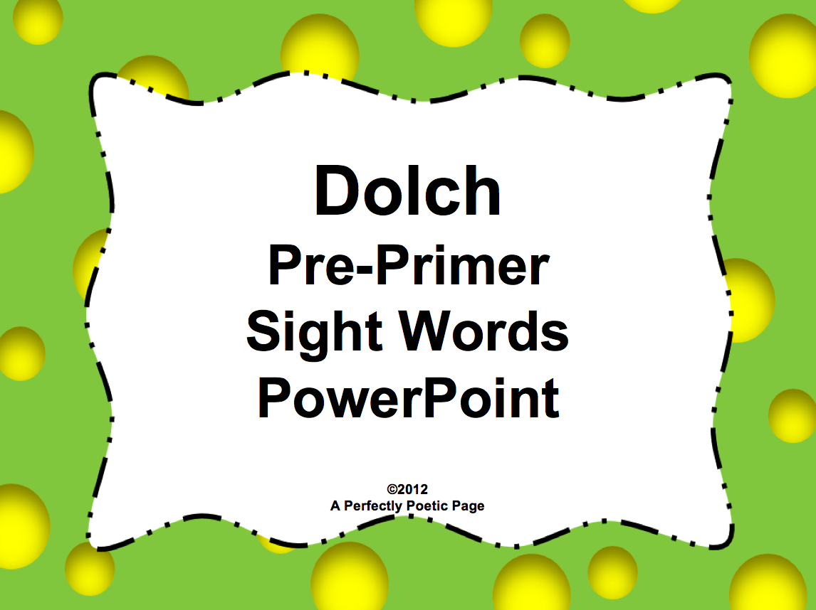 Sight Word Worksheet New 237 Pre Primer Sight Word
