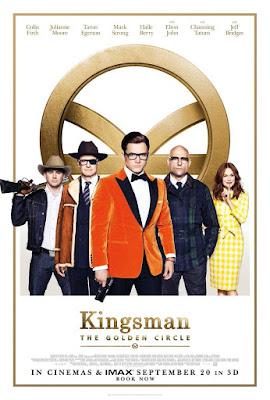 Kingsman: The Golden Circle, Kingsman: El Círculo dorado, película, cine, cartelera, nos vamos al cine,