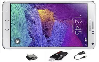 HP Samsung Yang Support USB OTG