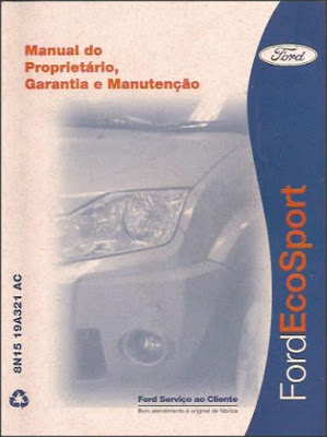 Manual do proprietário Ford Ecosport
