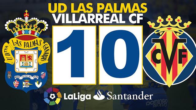 UD Las Palmas 1-0 Villarreal CF