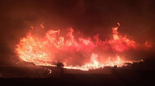 Kho chứa dầu tại Nicaragua cháy lớn chưa từng thấy !