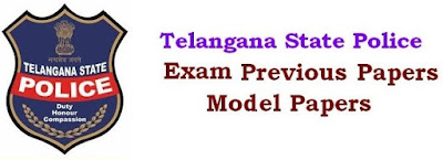 TS Sub Inspectors (SI) Model Paper 2018 Answer Key