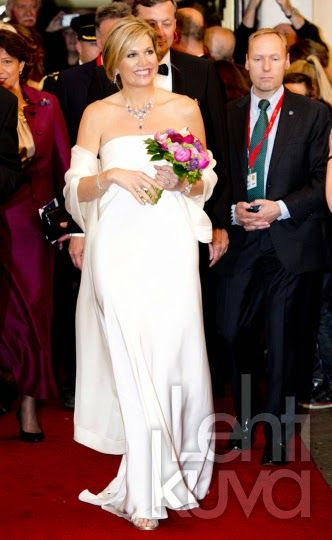 "Queen Máxima attended a jubilee gala concert of the ""Royal Sophia's Association"" at the Efteling Theatre in Kaatsheuvel. Royal Sophia's Vereeniging"