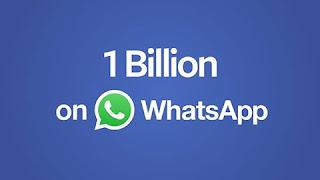 WhatsApp Hits One Billion Today